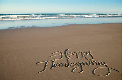 beach thanksgiving
